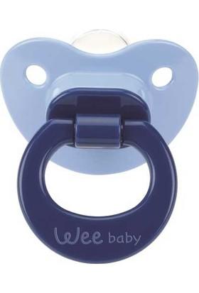 Wee Baby Mat Gövdeli Damaklı Uçlu Emzik No:1 Az Akış 0 - 6 Ay