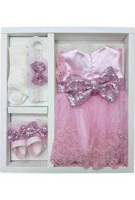 Pugi Baby 3102 Kız Bebek Mevlüt Takımı