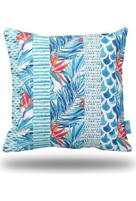 Bc Home Okyanus Dekoratif Yastık / Kırlent Dolgulu
