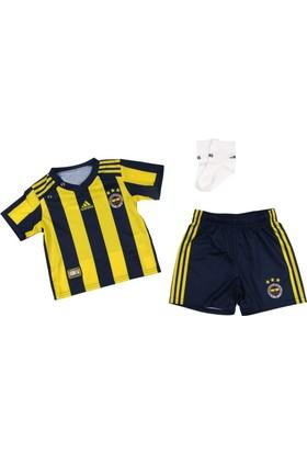 Adidas Cı4373 Fenerbahçe 2017-18 Home Bebek Forma Seti