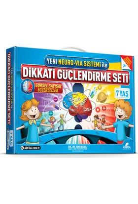 Dikkati Güçlendirme Seti 1. Sınıf - 7 yaş - Osman Abalı