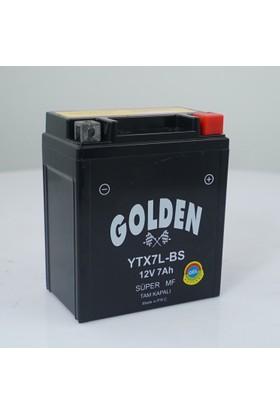 Mutlu -Golden 12 Volt /7 Ah (Amper) Motosiklet Akü (Üretim Yılı: 2017)