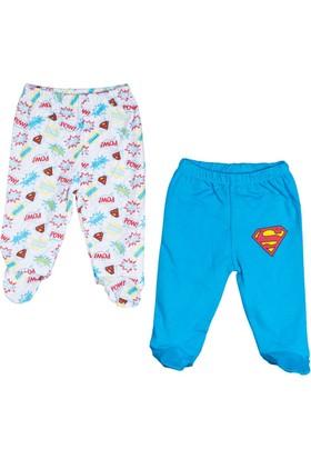 Superman SM10528 Superbaby Bebek 2'li Patikli Alt