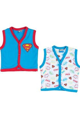 Superman SM10530 Superbaby Bebek 2'li Yelek