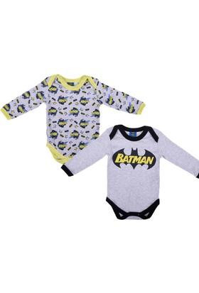 Batman Bebek 2'li Uzun Kol Body 12243