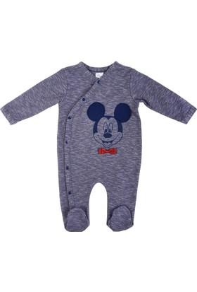 Disney Mickey Mouse Yandan Çıtçıtlı Tulum 12012