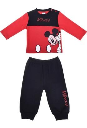 Mickey Mouse MC12034 Bebek Pijama Takım