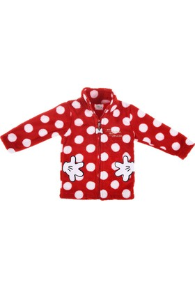 Disney Minnie Mouse Polar Fermuarlı Üst 12076