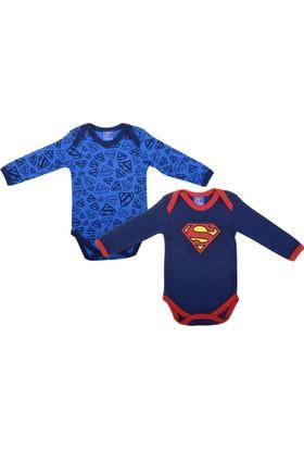 Superman SM12276 Bebek 2'li Uzun kol Body