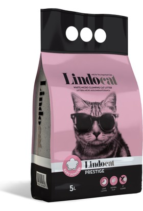 Lindo Cat Bebek Parfümlü İnce Kedi Kumu 5 Lt