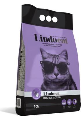 Lindo Cat Lavanta Kokulu İnce Kedi Kumu 10 Lt