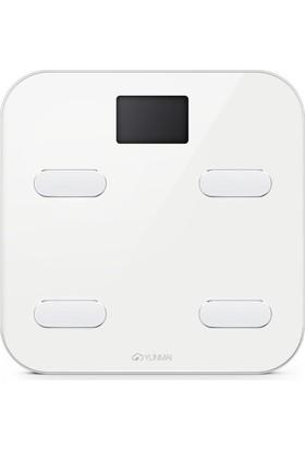 Yunmai Bluetooth Destekli Akıllı Tartı (Altın Sarı) (YUM1302G)
