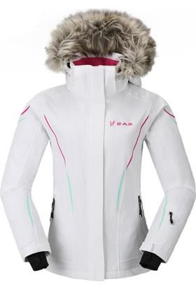 2AS Sarah Kadın Kayak Mont Beyaz