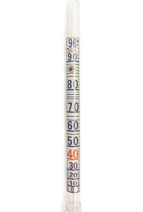 AEK-Tech Alkolmetre 0-100 Kısa Form 17cm