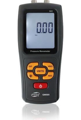 BENETECH GM505 Manometre Fark Basınç Ölçer