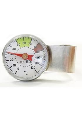 AEK-Tech Paslanmaz Barista Süt Termometresi