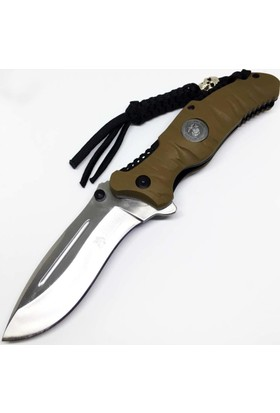 Columbia Fst-3000A Usmc Paracord Tactical Knife