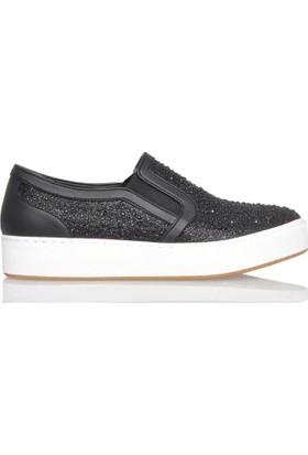 UK Polo Club P64922 Kadın Günlük Ayakkabı - Siyah