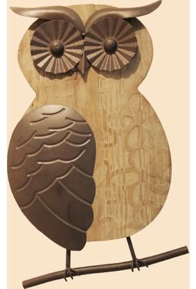 Fidex Home Dekoratif Baykuş Pano