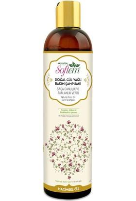 Softem Doğal Gül Yağlı Saç Bakım Şampuanı