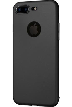 KılıfShop Apple iPhone 8 Plus Sert Rubber Kılıf + Nano Ekran Koruyucu