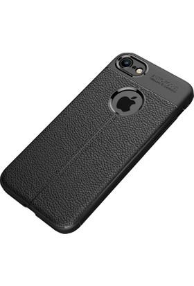 KılıfShop Apple iPhone 8 Niss Tam Koruma Silikon Kılıf + Ekran Koruyucu