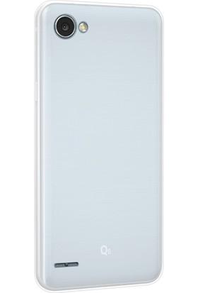 KılıfShop LG Q6 Silikon Kılıf + Nano Ekran Koruyucu