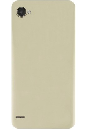 KılıfShop LG Q6 Soft Silikon Kılıf + Ekran Koruyucu
