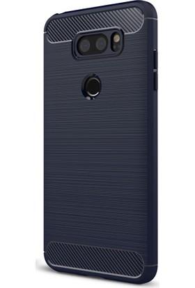 Kılıfshop LG V30 Romm Silikon Kılıf + Ekran Koruyucu
