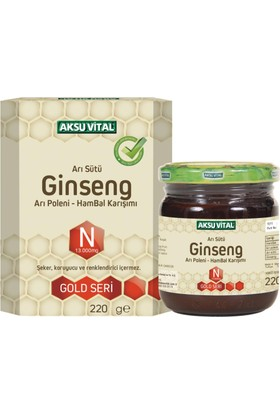 Aksuvital Arı Sütü Bal Polen Ginseng (N10000)