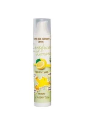 Azeta Organik Çocuk Diş Macunu 50 ml 3 - 7 Yaş Limon