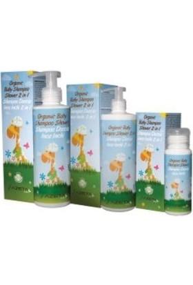 Azeta Organik Bebek Şampuan ve Duş Jeli 50 ml