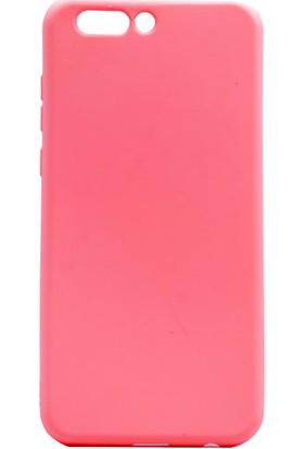 Kny Asus Zenfone 4 Ze554Kl Kılıf Ultra İnce Mat Silikon+Cam