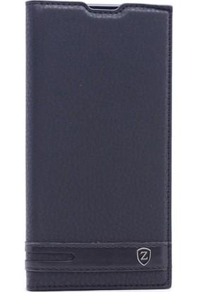 Kny Asus Zenfone 4 Ze554Kl Kılıf Gizli Mıknatıslı Kapaklı+Cam