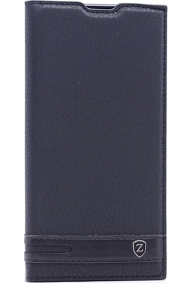 Kny Asus Zenfone 4 Max Zc554Kl Kılıf Gizli Mıknatıslı Kapaklı+Cam