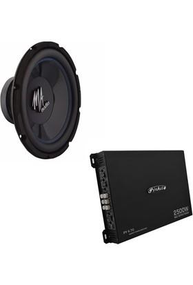 DB-0015 Kabinsiz Bass ve Amfi Seti