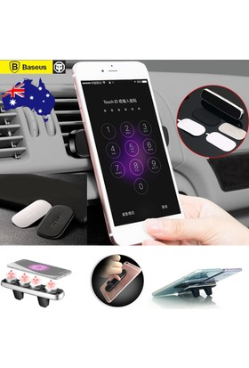 Baseus Araç İçi Telefon Tutucu Kalorifer Double Clip Cin119