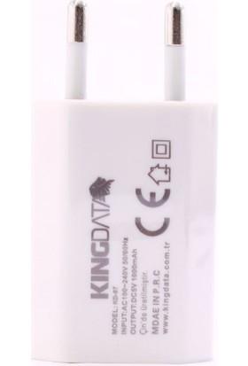 Kingdata Usb Şarj Başlığı 5 Volt 1 Amper
