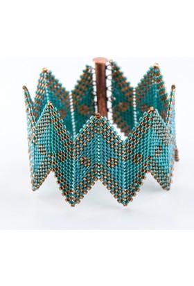Kimya Hatun Kooperatifi Diyagonal Miyuki Bileklik