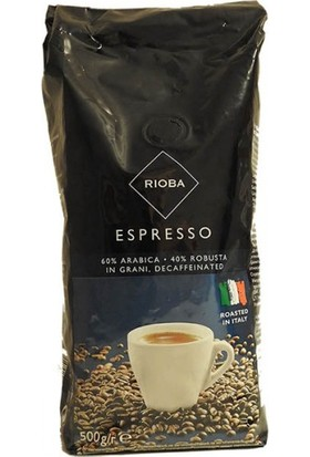 Rioba Kafeinsiz Çekirdek Kahve 500 gr