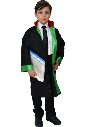 Hkostüm Avukat Cübbesi- Çocuk Meslek Kostümü 7-8 Yaş