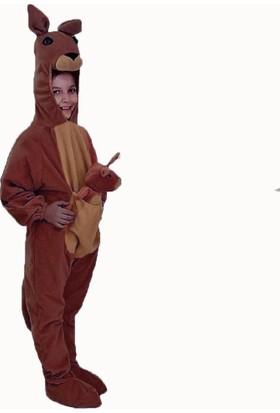 Hkostüm Kanguru Çocuk Hayvan Kostümü 7-8 Yaş