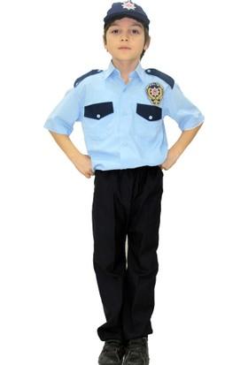 Hkostüm Polis Çocuk Meslek Kostümü 7-8 Yaş