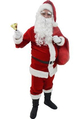 Hkostüm Yılbaşı Yetişkin Noel Baba Kostümü