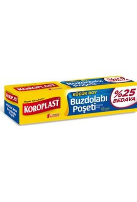 Koroplast Buzdolabı Poşeti Küçük Boy %25 Bedava 63'lü 20x30 cm kk