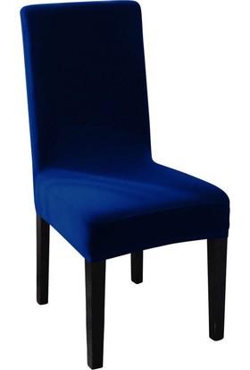 Sweat Likralı Sandalye Kılıfı Her Sandalyeye Uygun Yıkanabilir Sandalye Örtüsü