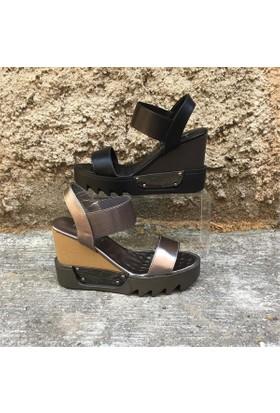 Shop And Shoes 015-656 Kadın Ayakkabı Pewter