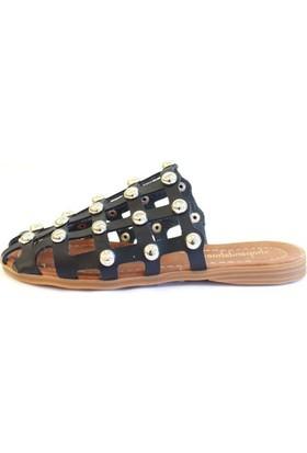 Shop And Shoes 031-1105 Kadın Terlik Siyah