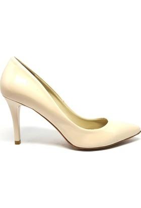 Shop And Shoes 041-8600 Kadın Ayakkabı Bej Rugan
