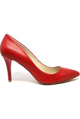 Shop And Shoes 041-8600 Kadın Ayakkabı Kırmızı